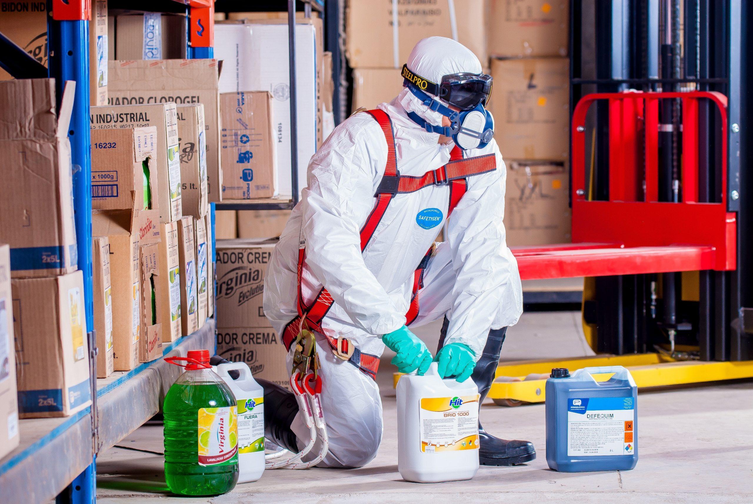 TRAINING BASIC SAFETY FOR CHEMICAL HAZARDS